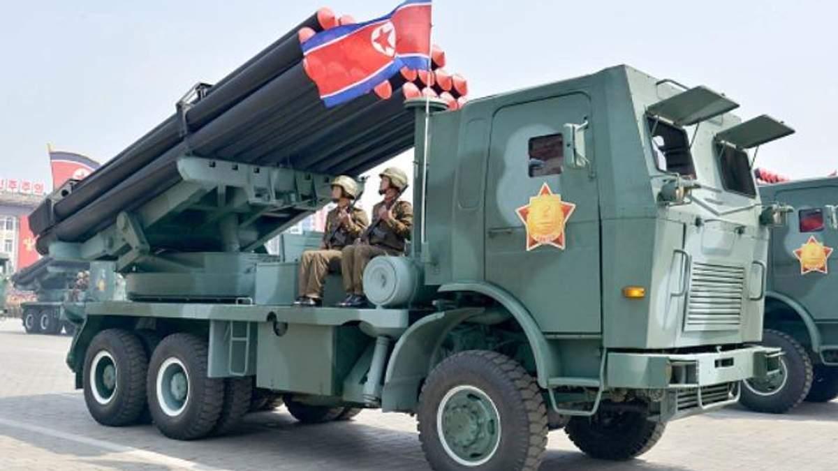 За день до старта Олимпиады-2018 в КНДР побрязкали военной техникой