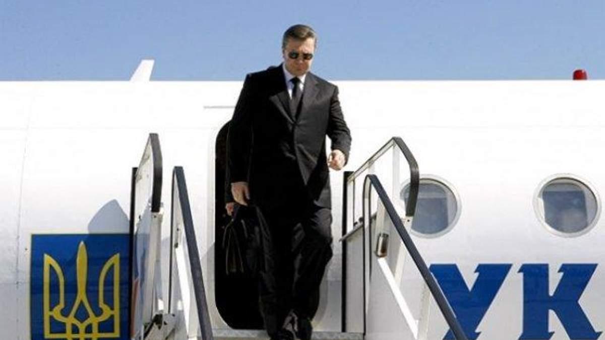 Побег Януковича