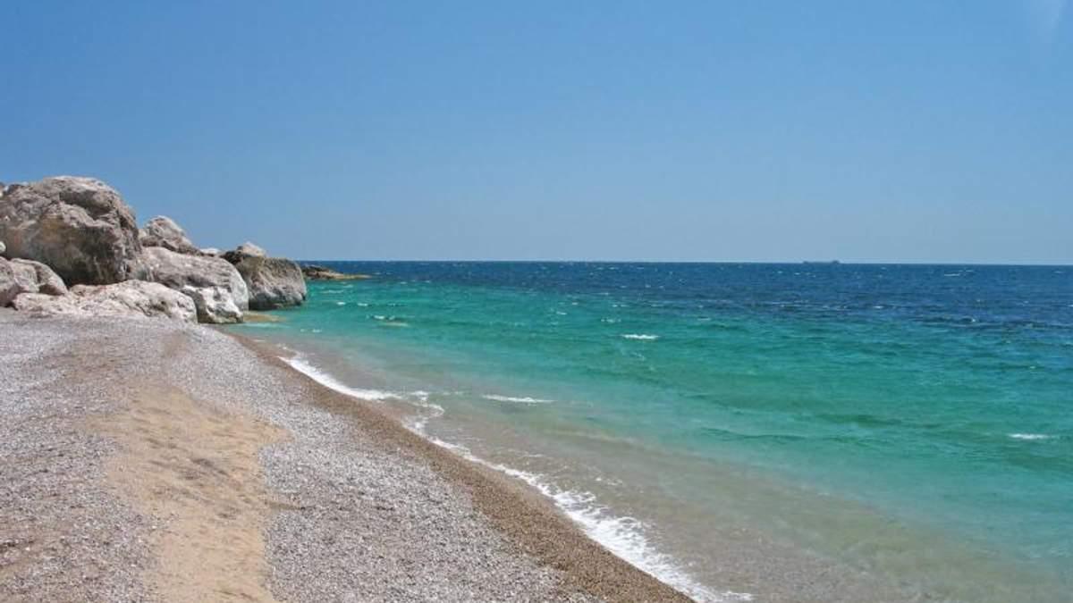 Крымский пляж