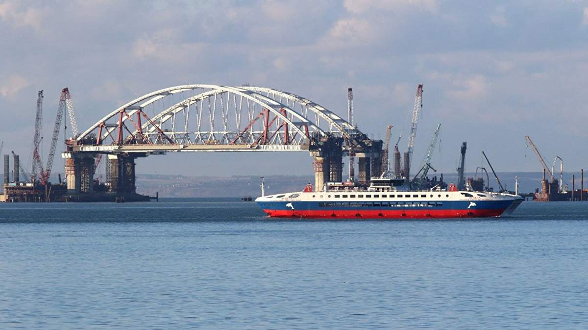 """Будівництво """"Керченського"""" (""""Кримського"""") мосту"""
