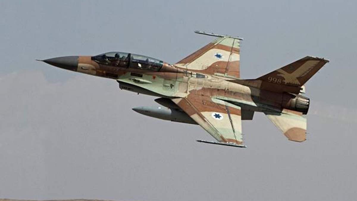 Израильский истребитель F-16 подбила сирийская ПВО
