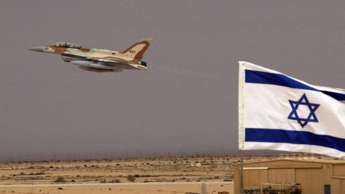 Израиль нанес увиаудары по иранским целям в Сирии