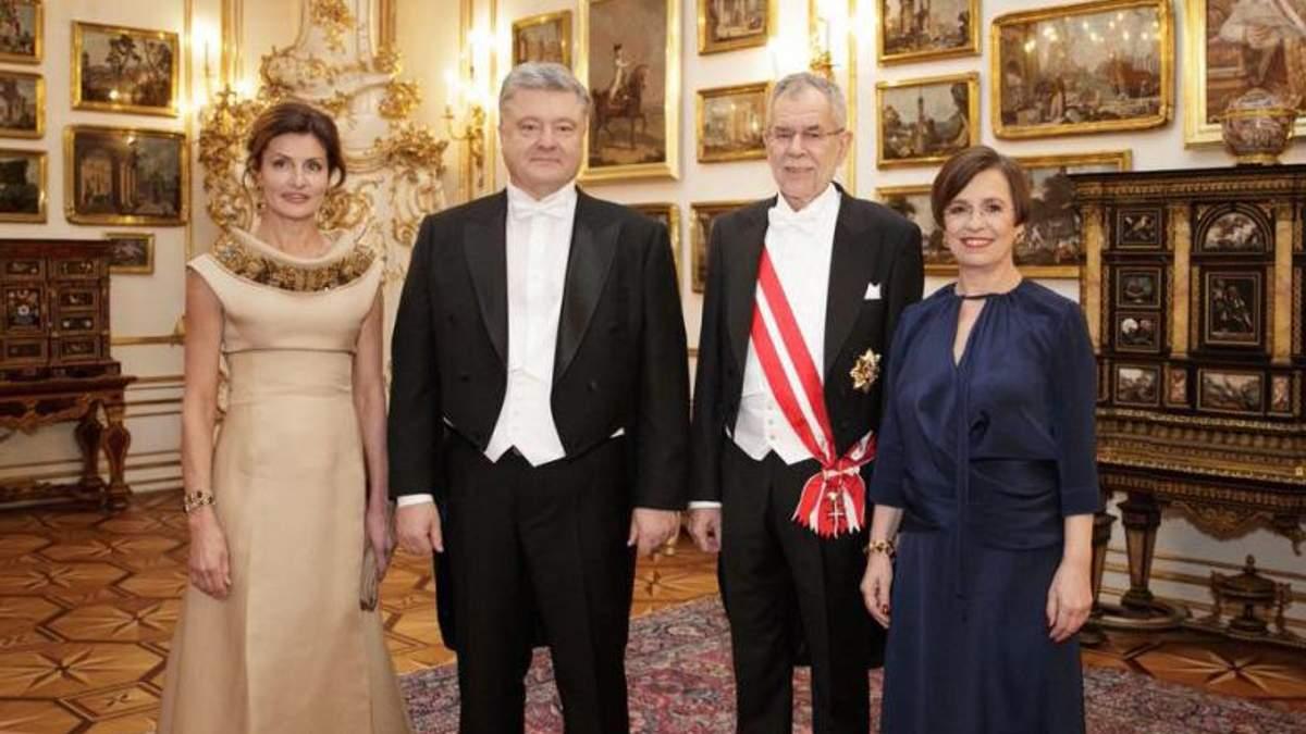 Дипломат обнародовал подробности поездки Порошенко на Венский бал