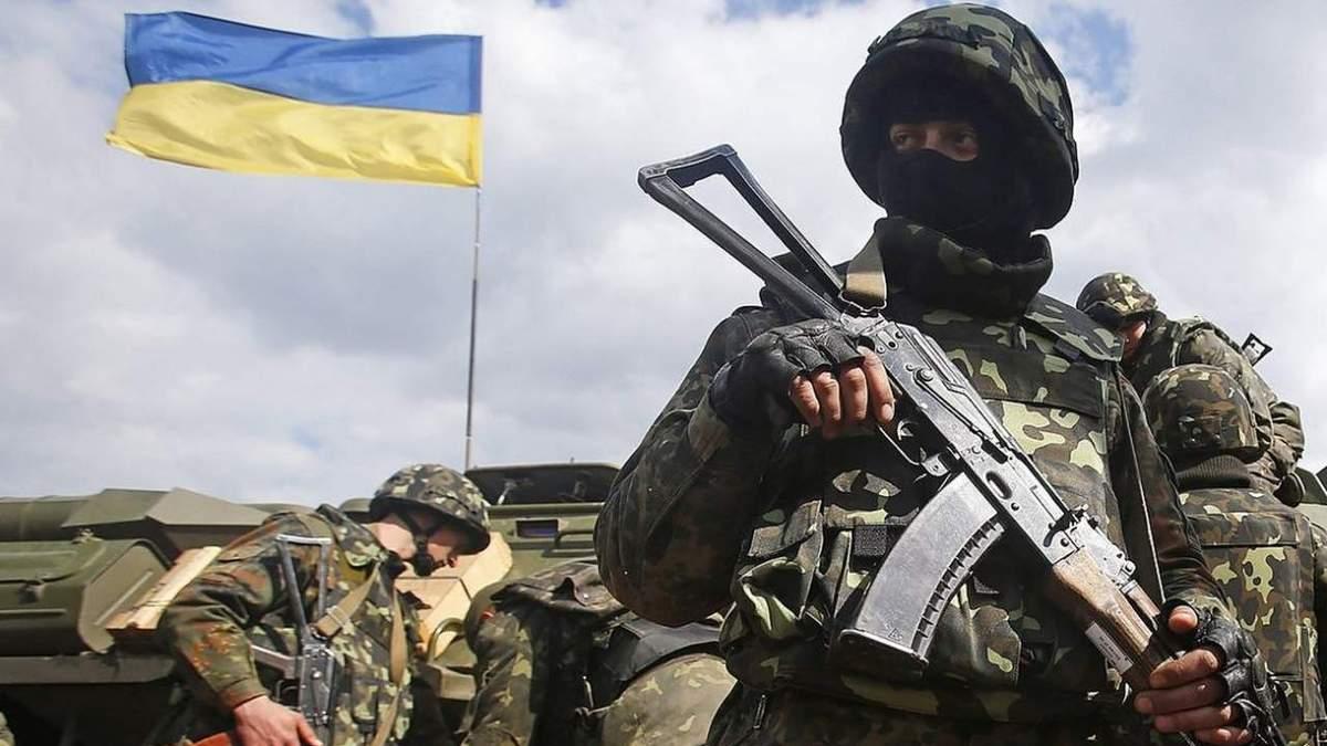 Понад годину противник обстрілював українських військових