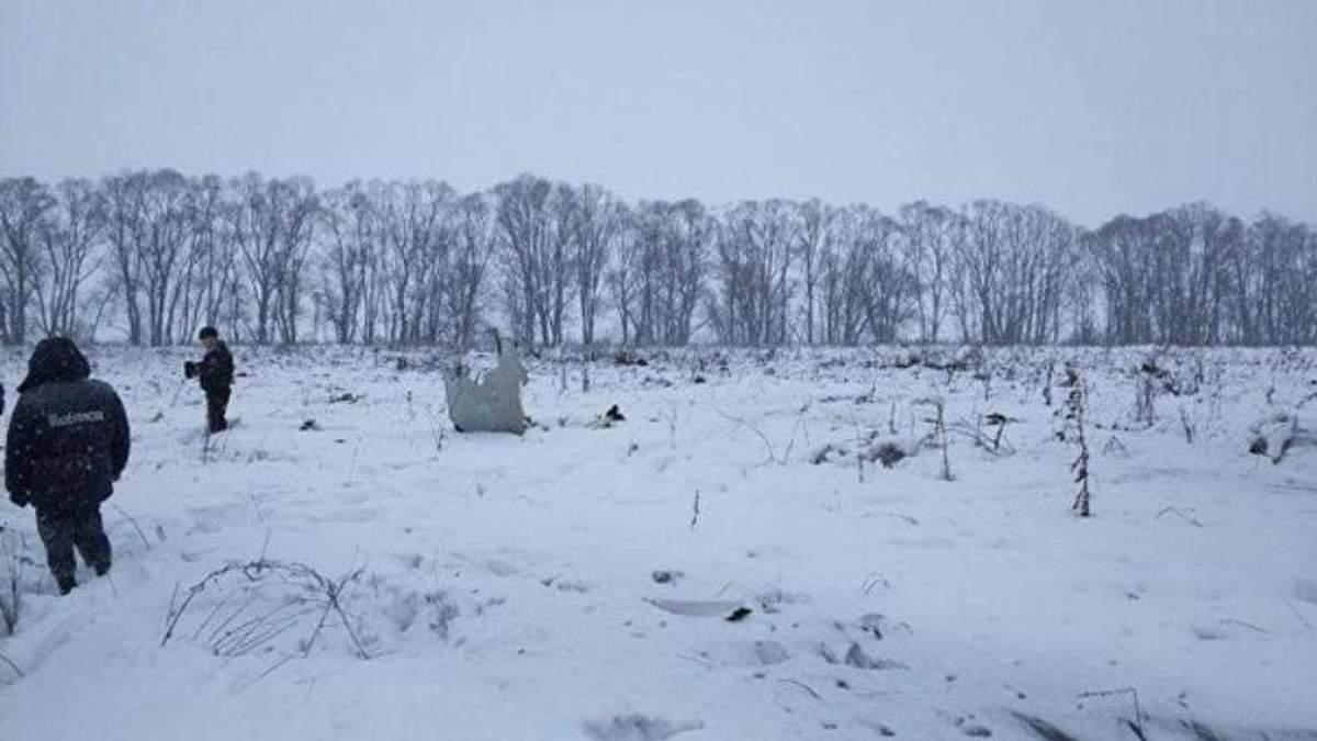 Катастрофа Ан-148 под Москвой