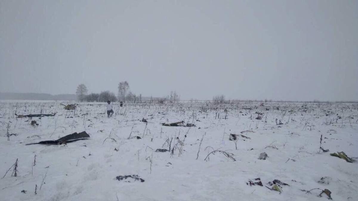 Самолет Ан-148 разбился под Москвой