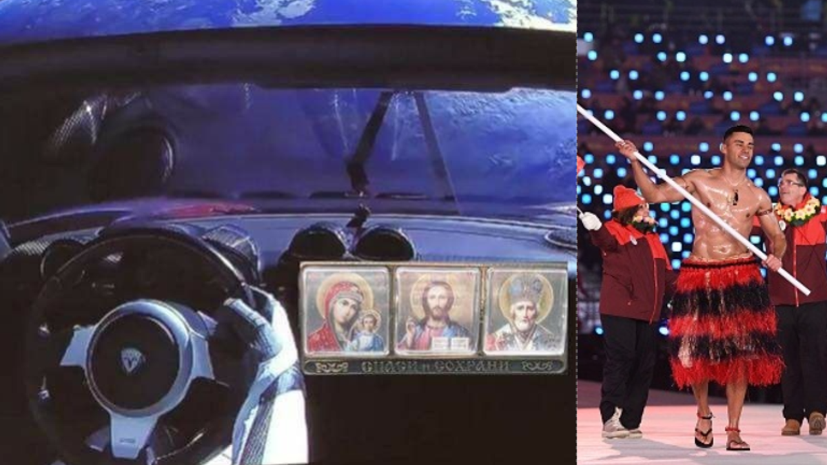 Самое смешное за неделю: Tesla полетела на Марс, снег имени Навального, горячий старт Олимпиады-2018