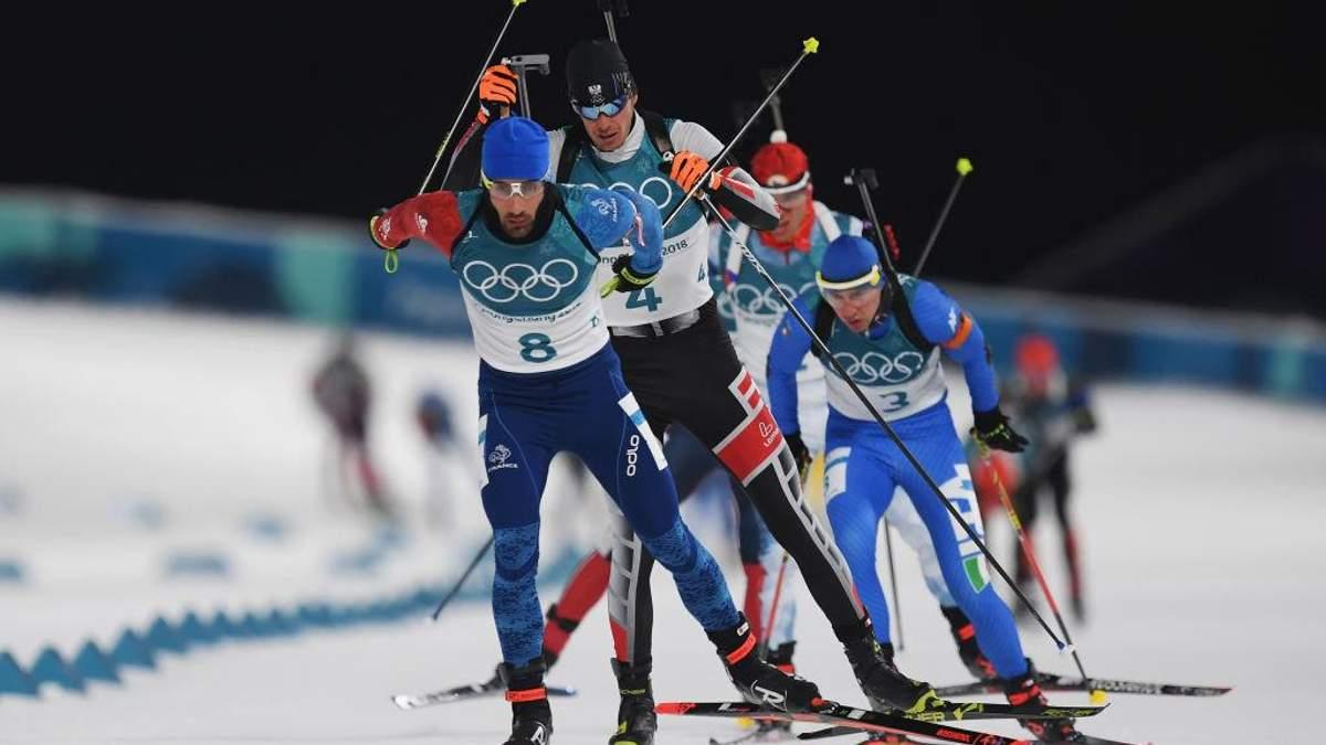 Олімпіада-2018: Мартен Фуркад переміг у чоловічій гонці переслідування