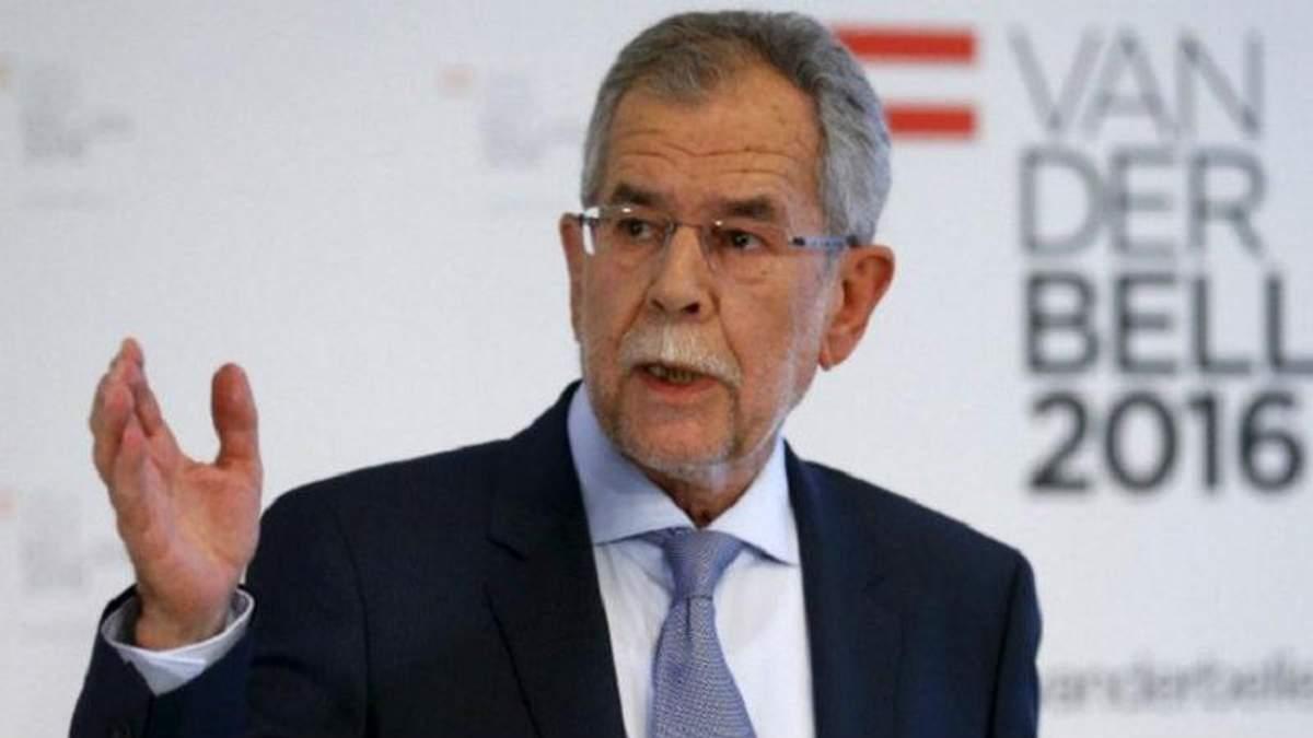 Президент Австрии Александр Ван дер Беллен