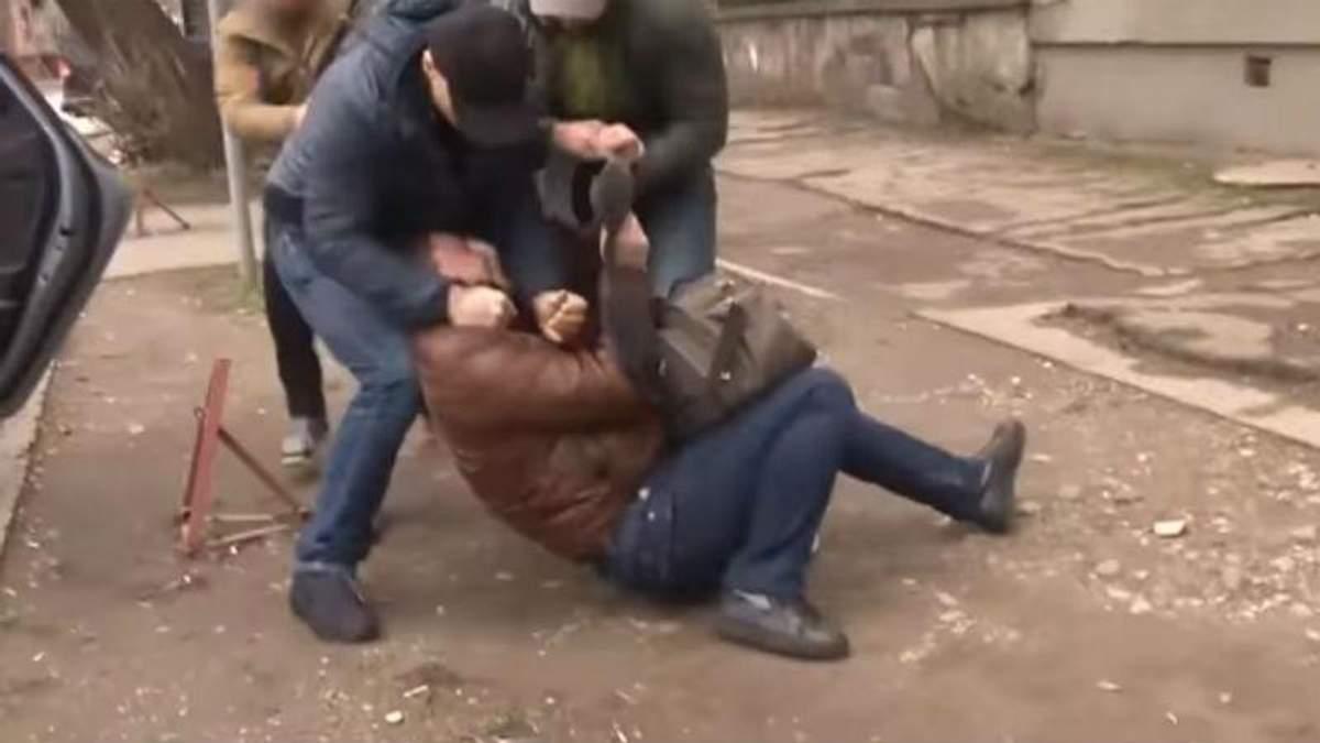 """В Крыму задержали """"украинского шпиона"""": появилось видео"""