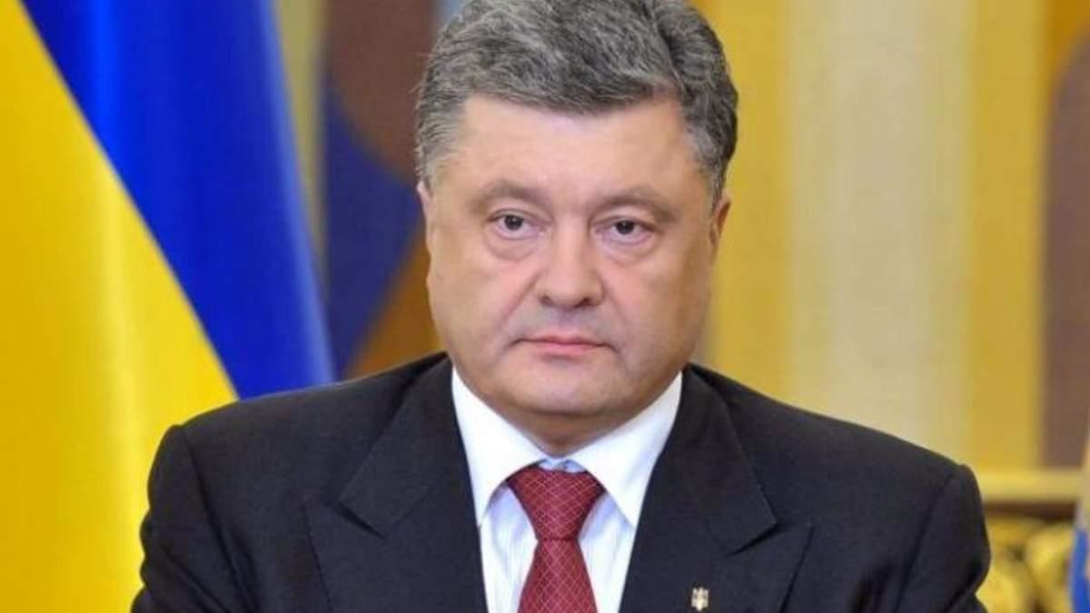 Порошенко заявил,что Саакашвили не является украинским политиком