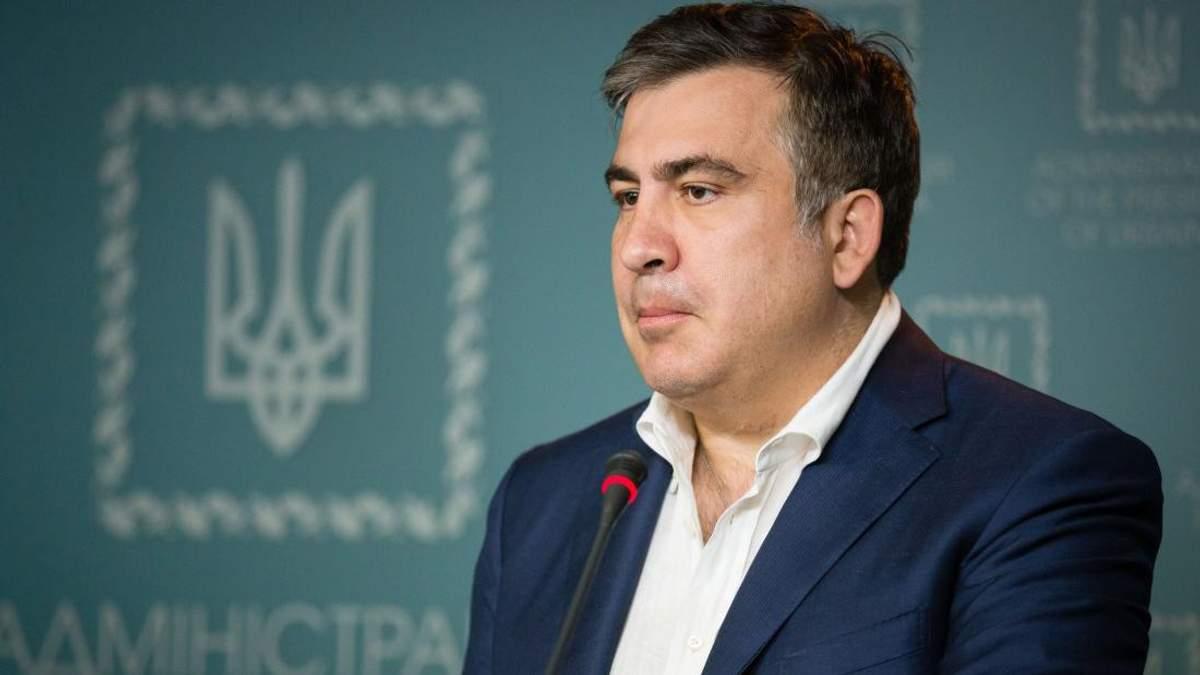 Екс-губернатор Одеської області Міхеїл Саакашвілі