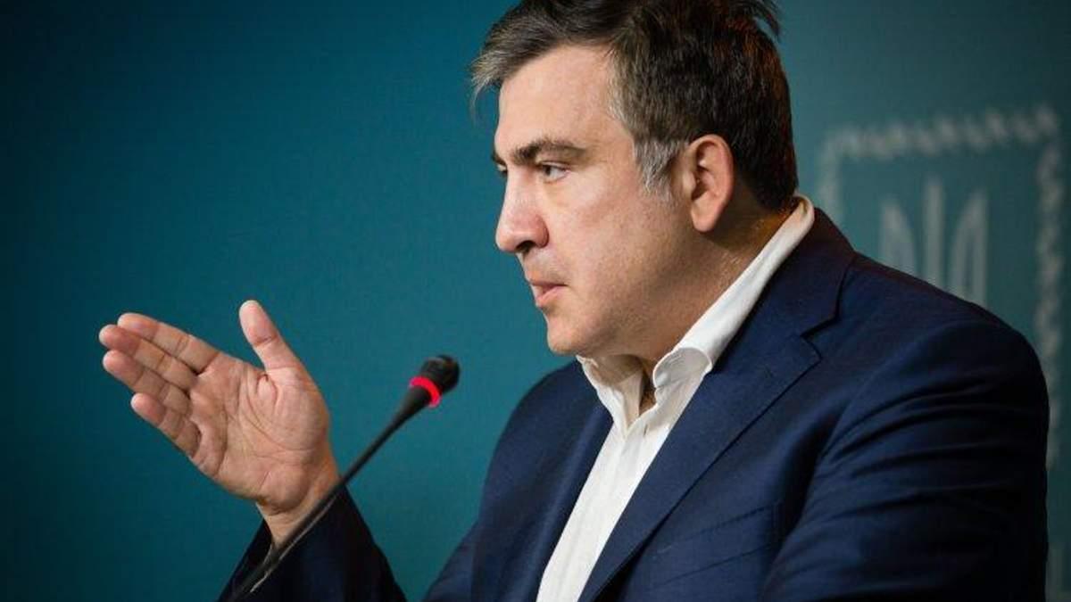 Саакашвили прокомментировал свое выдворение из Украины