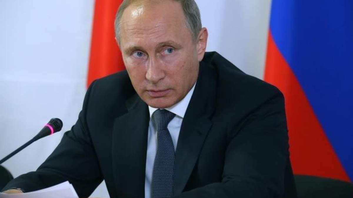 Путін захворів