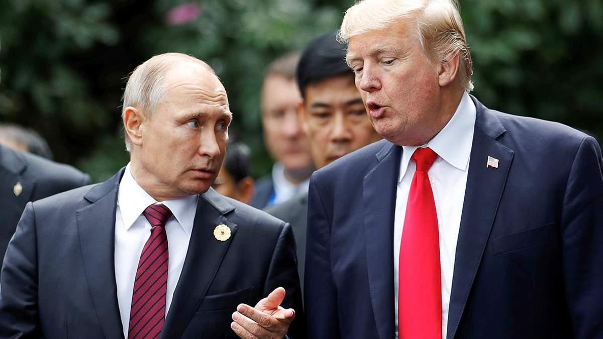 Трамп и Путин провели разговор: детали