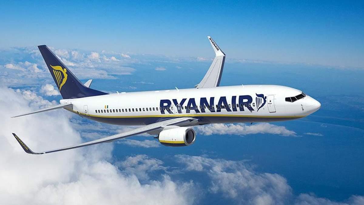 Ryanair літатиме з України восени