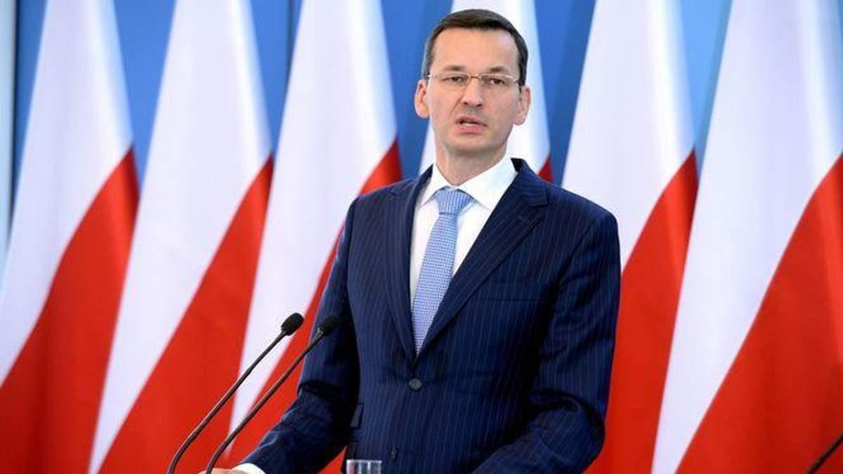 Премьер-министр Польши Матеуш Моравецкий сравнил Богдана Хмельницкого с Гитлером