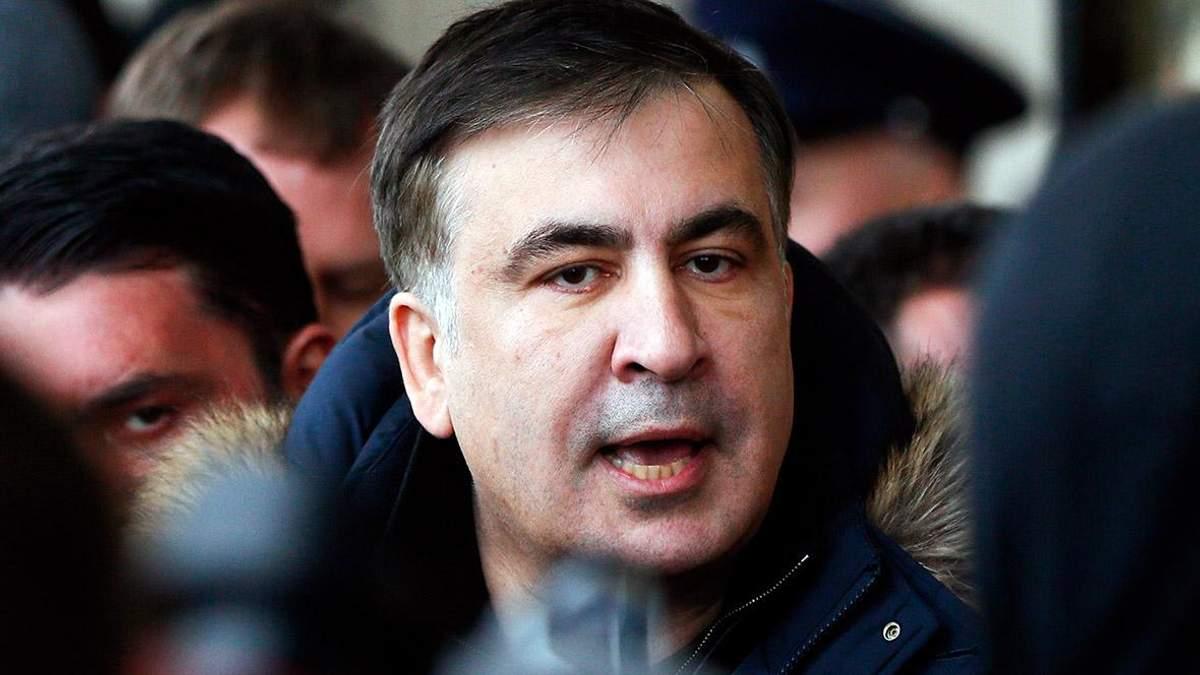 """Саакашвили призвал ЕС в лице Меркель """"спасти"""" Украину от Порошенко"""