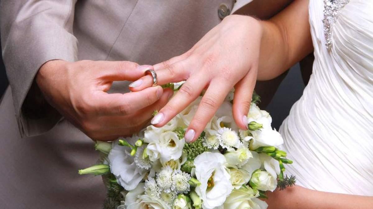 У День Святого Валентина в Україні одружаться майже 2 тисячі пар