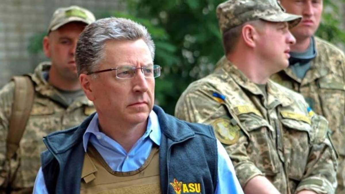Волкер сказал, что Россия должна выбрать мир, чтобы прекратить войну на Донбассе