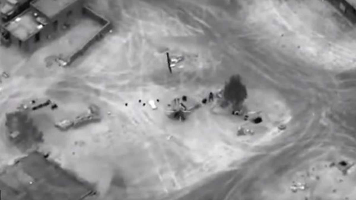 Авиаудары в Сирии