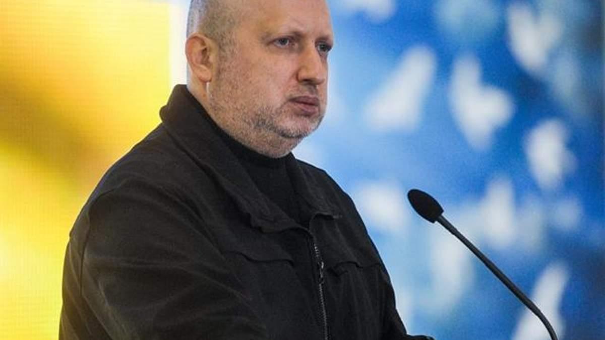 Закон о реинтеграции Донбасса не исключает силовой путь освобождения территорий, – Турчинов