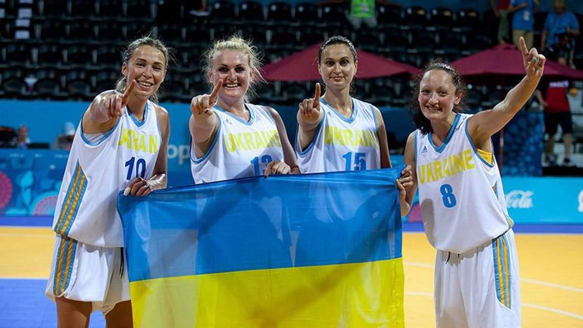 Украинки разгромили сборную Нидерландов по баскетболу