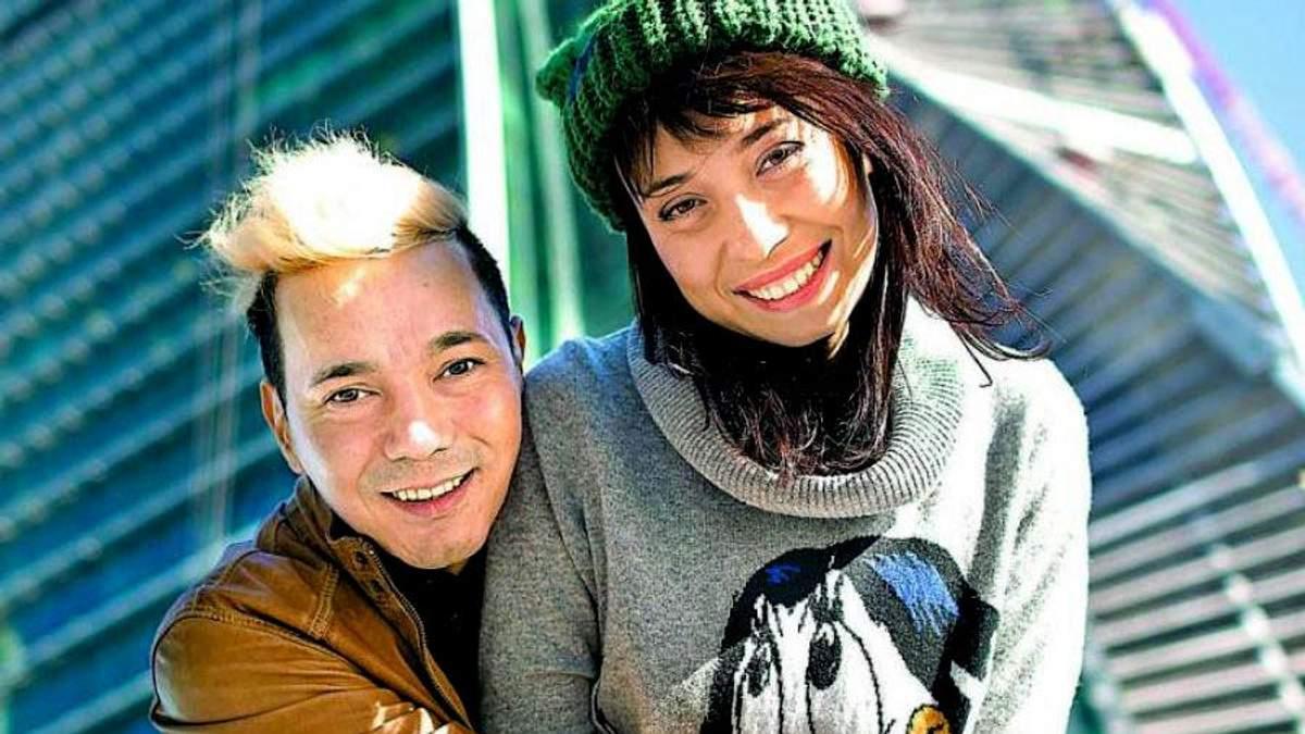 Олег Яковлев с женой Олександрой Куцевол