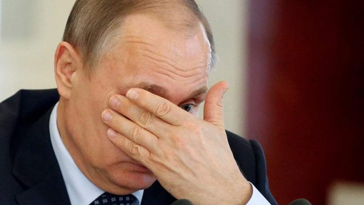 Путин больной