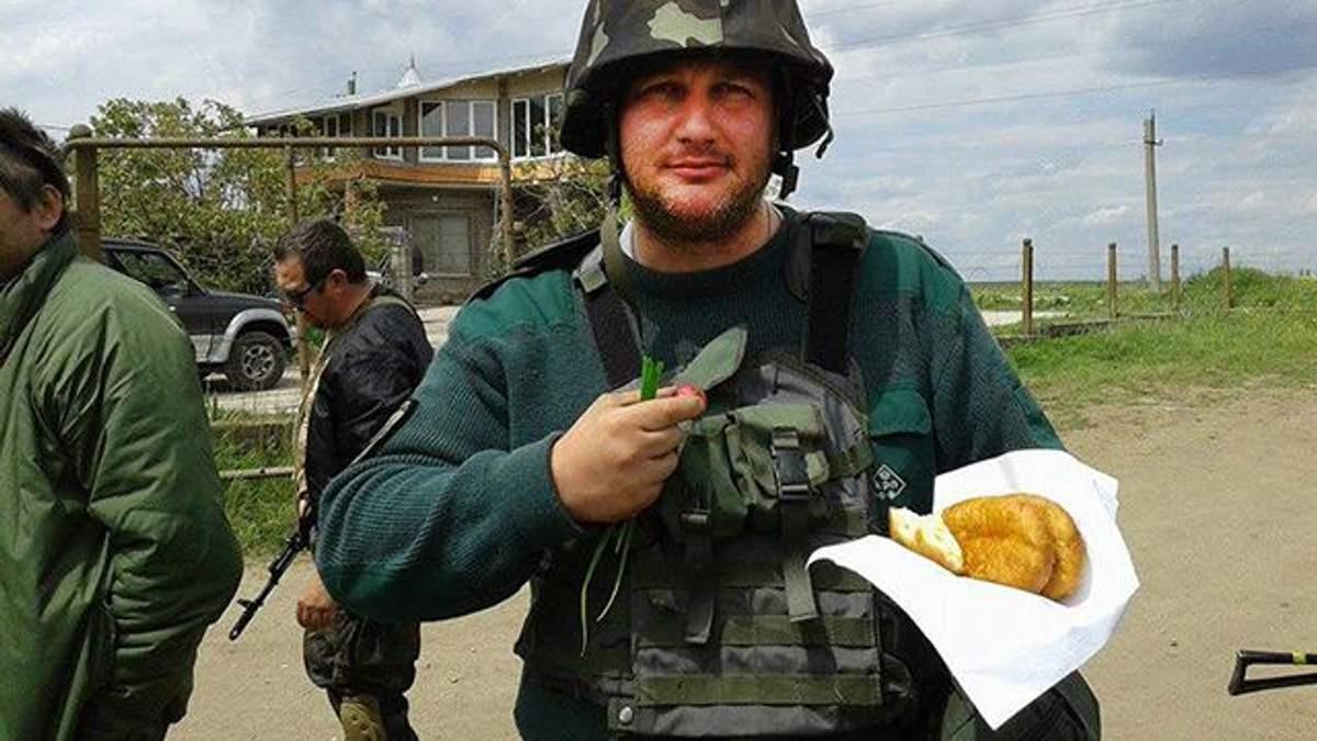 Арештований боєць АТО Петро Салама
