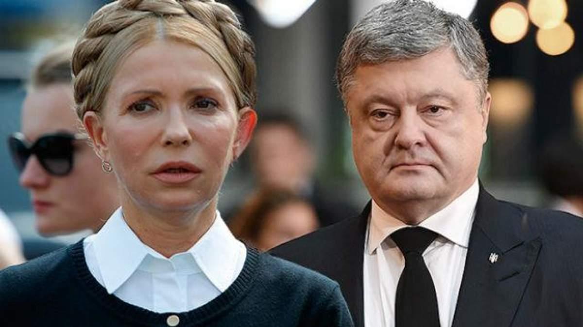 """Прелюдія до виборів: """"тягар"""" Порошенка, фактор Донбасу та активізація Тимошенко"""