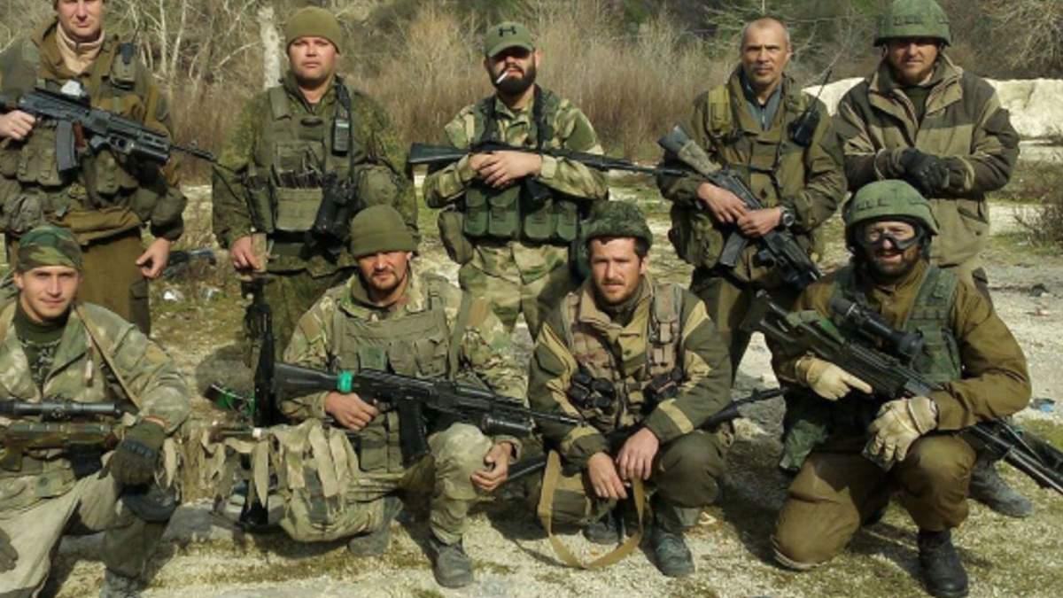 """Бойцы ППК """"Вагнера"""" в Сирии"""