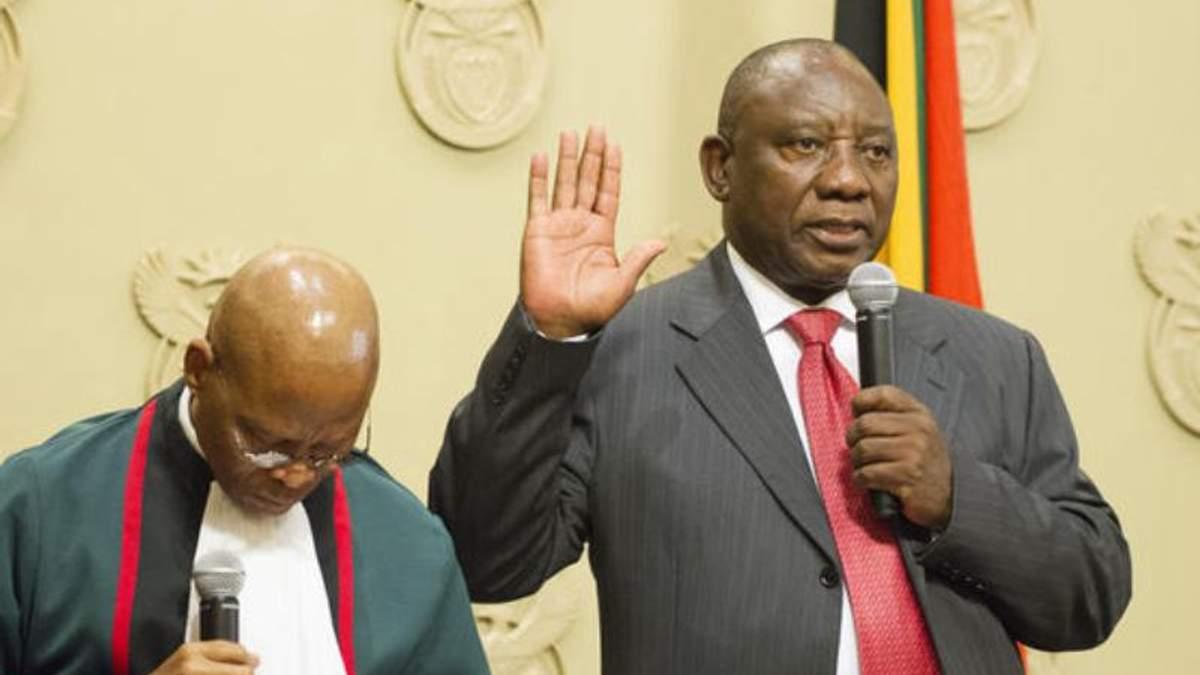 Новый президент ЮАР Сирил Рамапоса