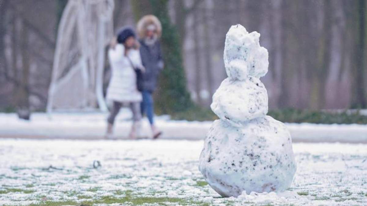 Погода 17 февраля в Украине: