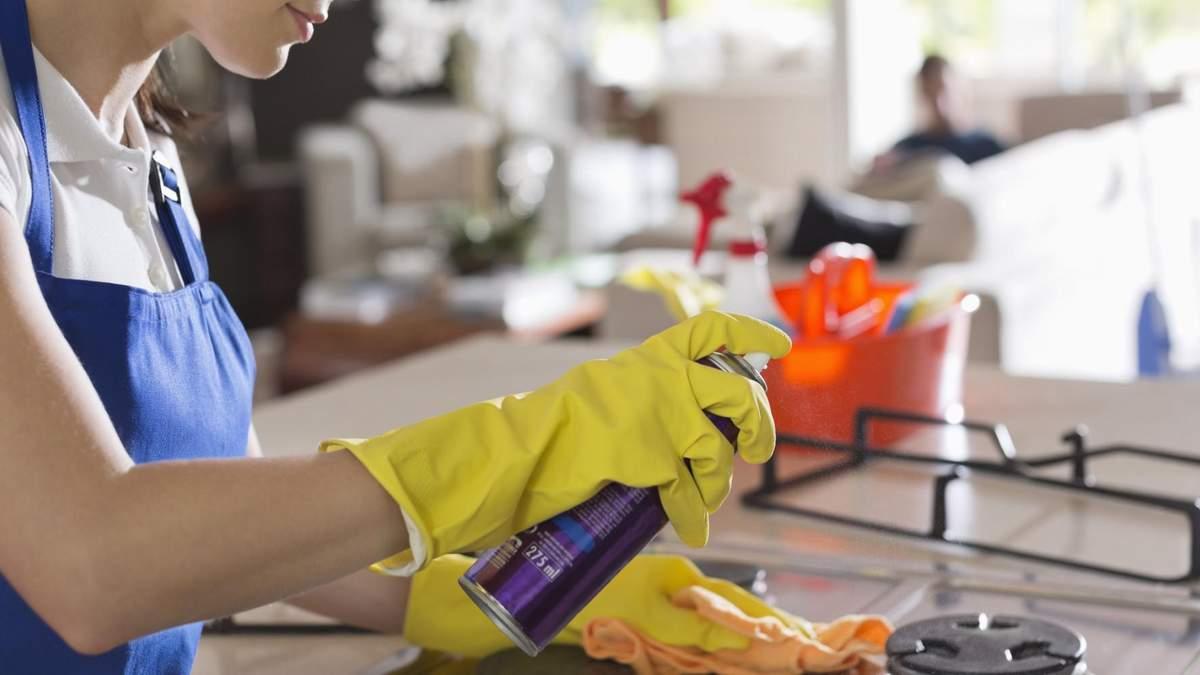 Засобі для прибирання можуть погіршити здоров'я легень