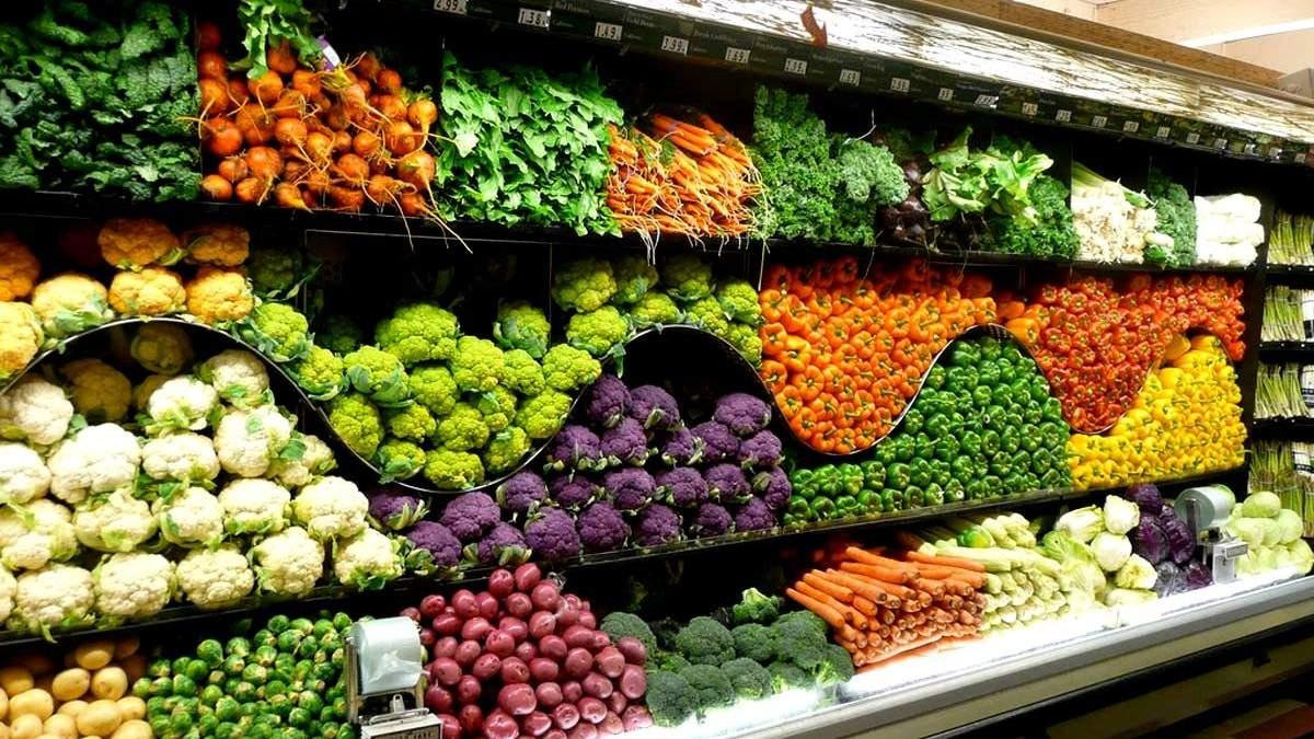 Изменение цен на продукты на украинских рынках