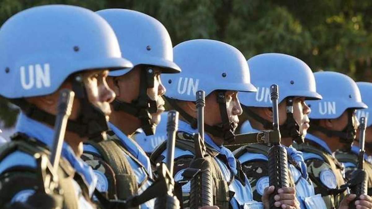 Миротворцы на Донбассе: как представляет миссию ООН международное сообщество