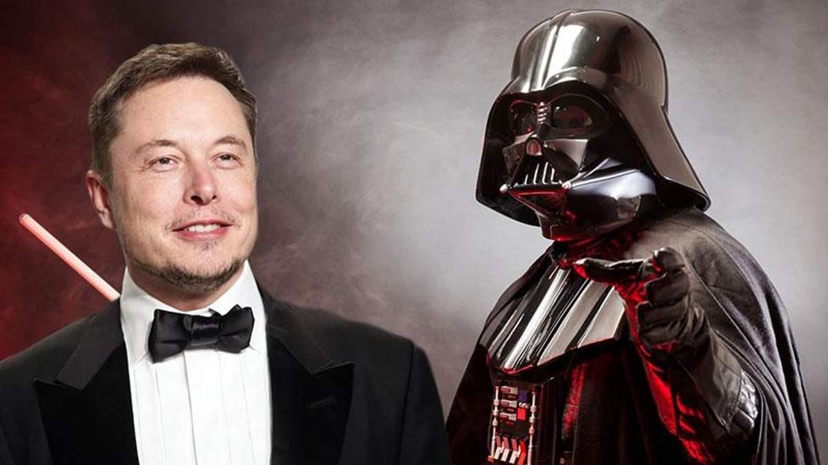 Ілон Маск має тостер Star Wars