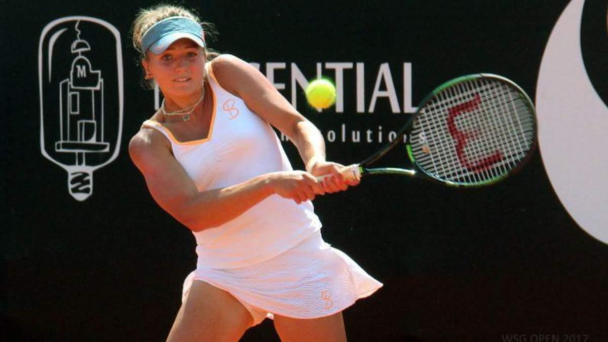 Українка Ольга Янчук пройшла до півфіналу тенісного турніру ITF