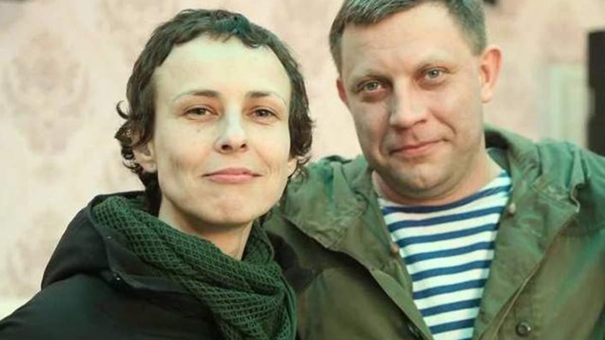 "Чичерина с главарем ""ДНР"" Захарченко"