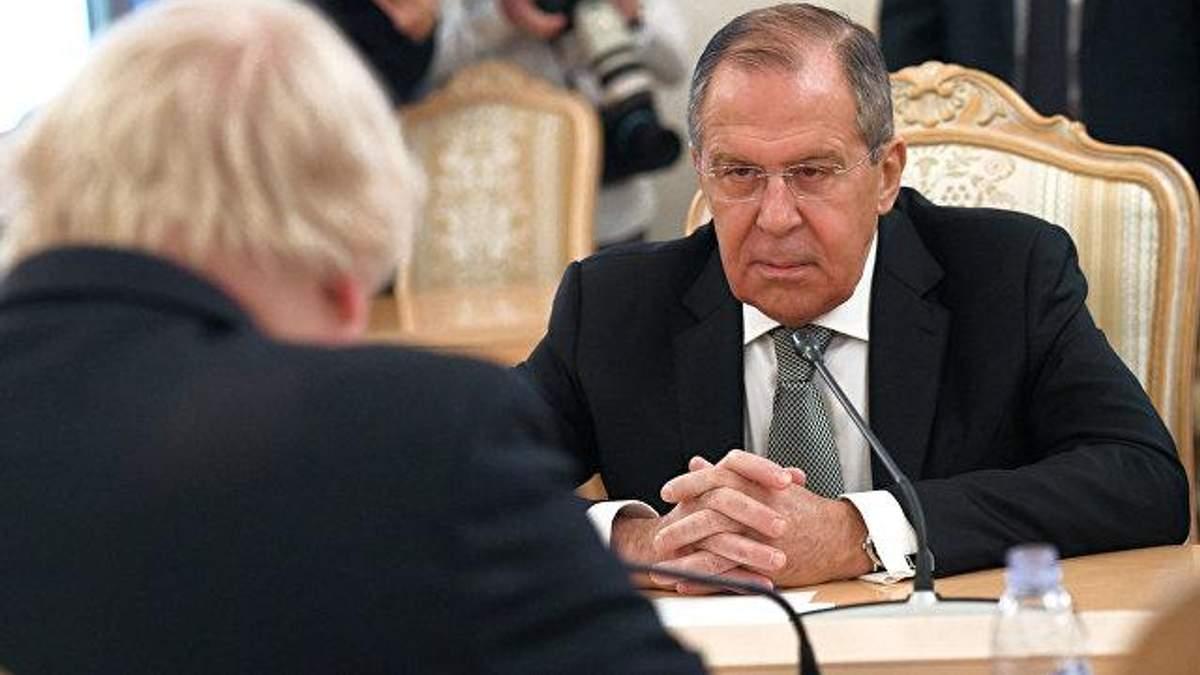 Лавров выдвинул претензии к Украине