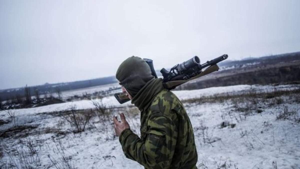 Внаслідок провокацій бойовиків поранений 1 український воїн