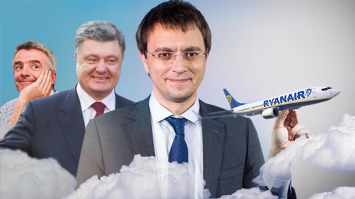 Ryanair зашел в Украину: когда и откуда будет летать в 2018