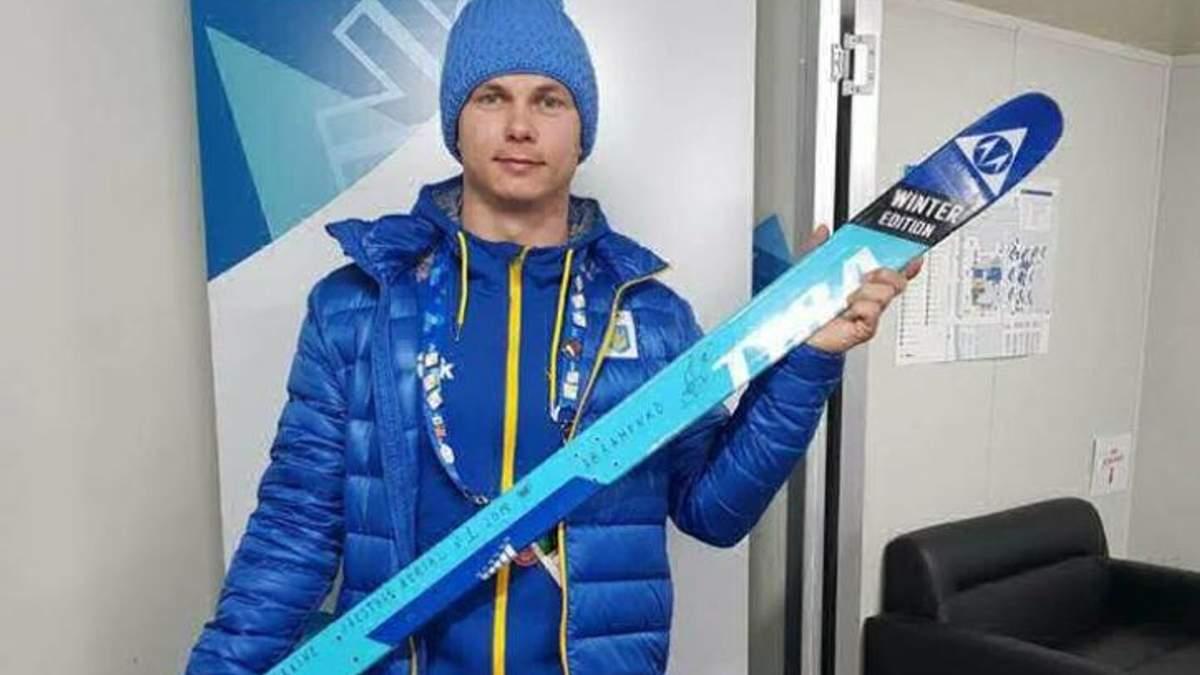 Олімпійський чемпіон Олександр Абраменко