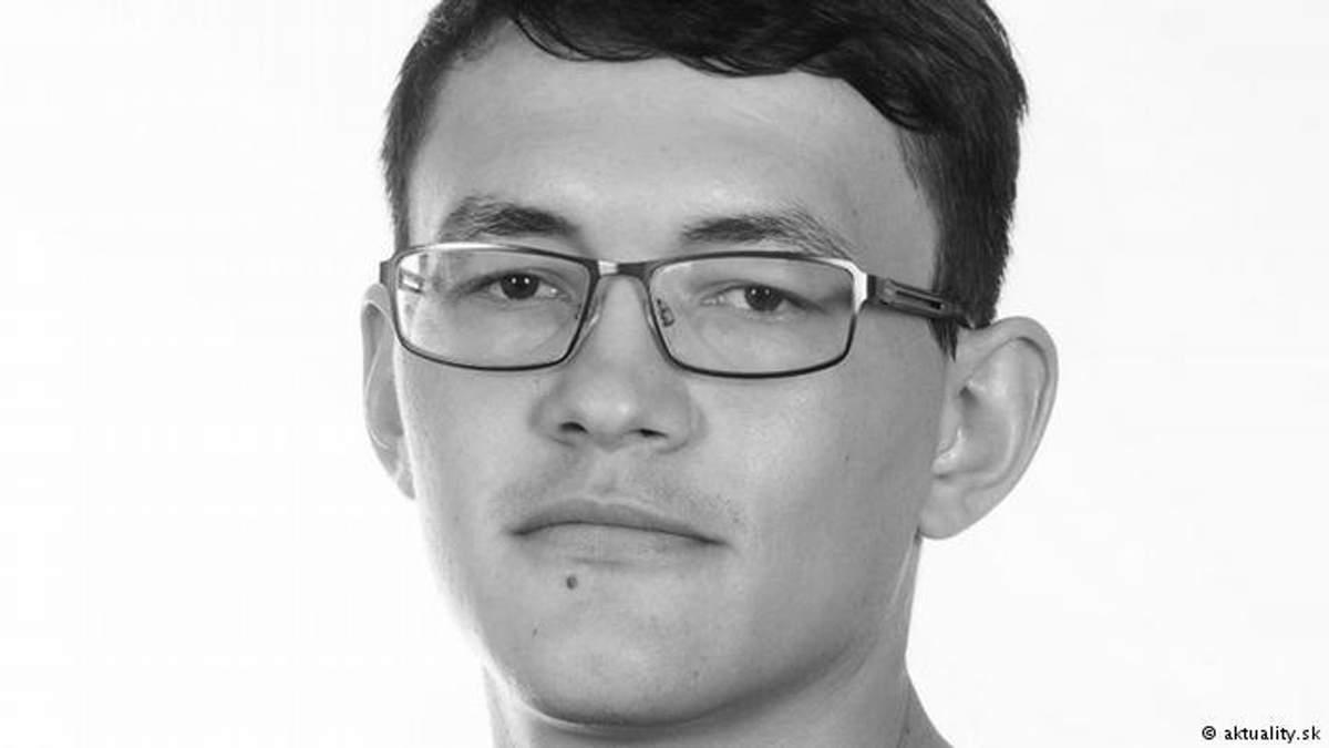 Вбитий журналіст Ян Кучак