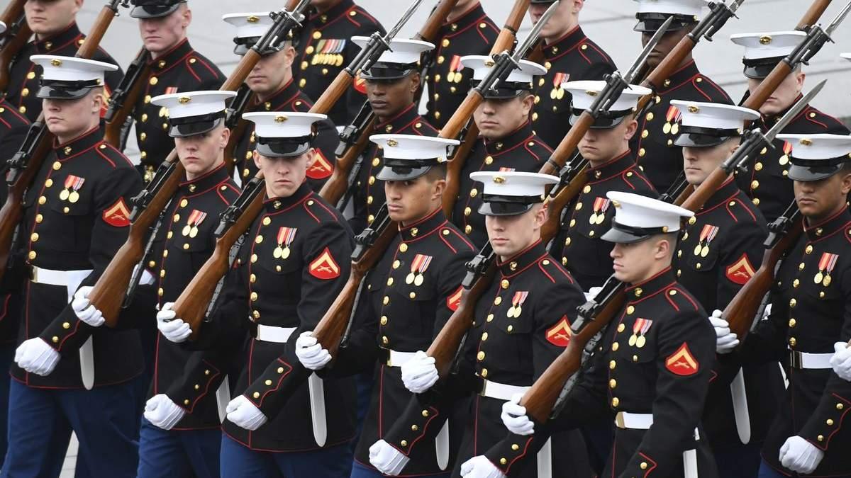 Морські піхотинці США потрапили до лікарні через конверт із невідомою речовиною