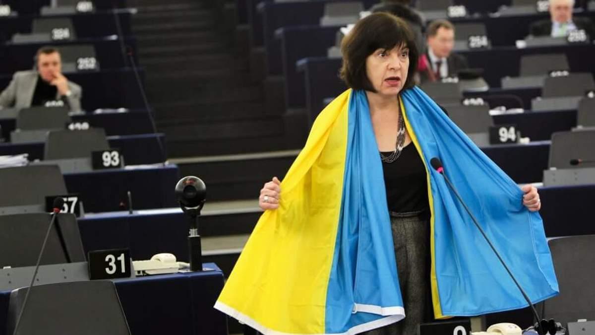 Ребекка Хармс у Європарламенті