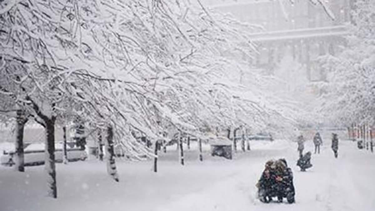 Украину накроют сильные снегопады и метели: список областей