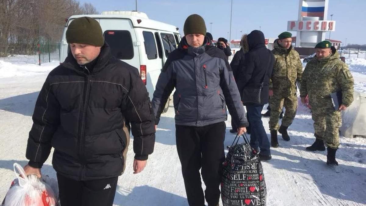 Росія повернула двох українських бранців