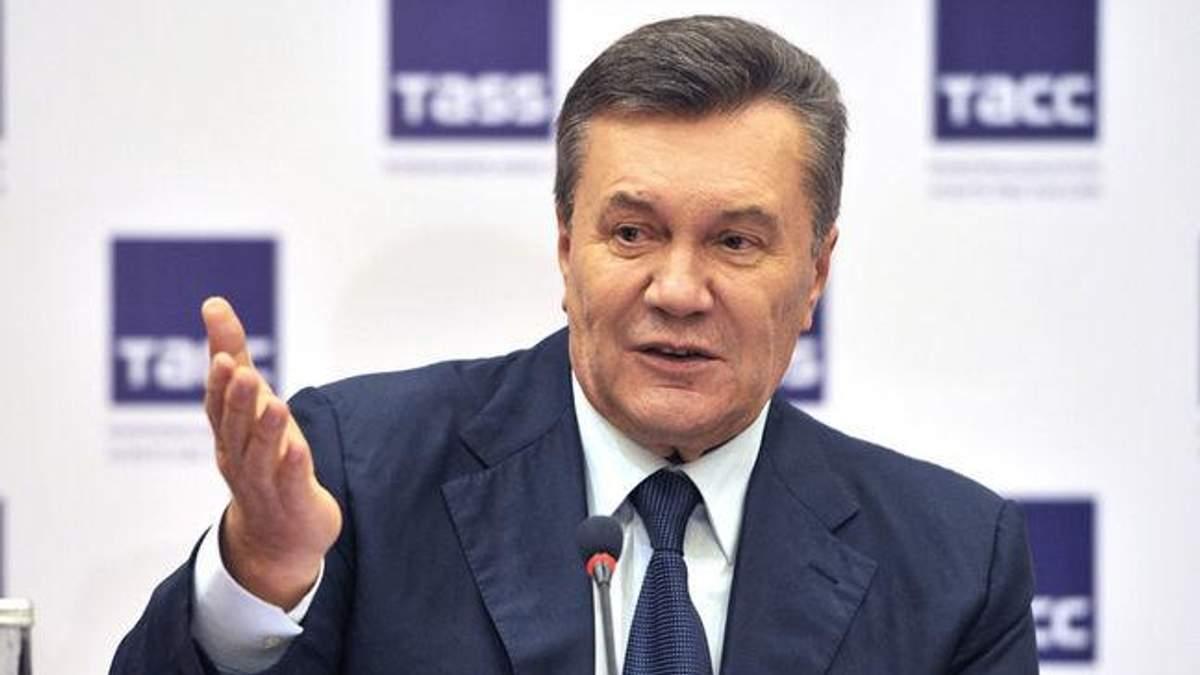 Украинская власть фактически сдала Крым, а крымчане искали защиты у России, – Янукович